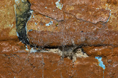 Background Old Rimous Grunge Wall Stock Photo
