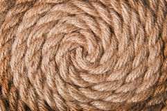 Background of old rope Stock Image