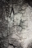 Background old rupture cement Stock Image