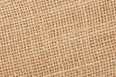 Background with the old sackcloth, close up. Stock Image