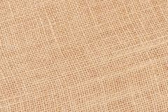 Background with the old sackcloth, close up. Royalty Free Stock Photo