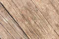 Background of old scratched plank boards densely knocked together Royalty Free Stock Photography