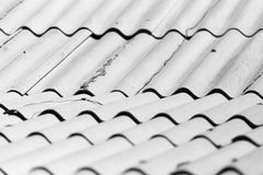 Background of old slate roof Royalty Free Stock Photo