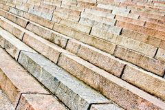 Background of the old stairs royalty free stock photography