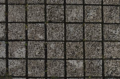 Background of old stone pavement Royalty Free Stock Photography