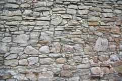 Background old stone wall texture Royalty Free Stock Image