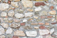 Background of old stone wall stock photo