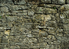Background of old und ruined stone wall Royalty Free Stock Photography