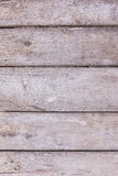 Background of old unpainted rough horizontal boards vertical frame Stock Image