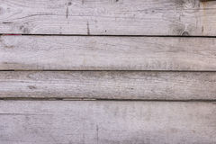 Background of old unpainted rough horizontal boards Stock Images