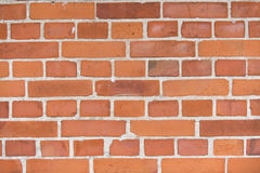 Background of old vintage brick wal Royalty Free Stock Photos
