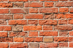 Background old vintage brick wall Stock Photography
