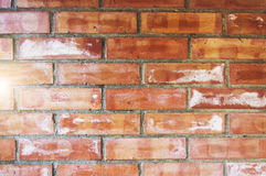 Background of old vintage brick wall. Background of old vintage brick wall Stock Photo