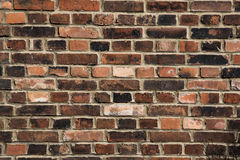 Background of old vintage brick wall. Background of brick wall t. Background of brick wall texture. Background of old vintage brick wall Stock Photo