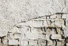 Background of old vintage brick wall Royalty Free Stock Photos