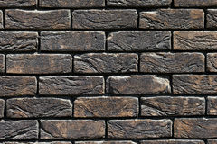 Background of old vintage brick wall Royalty Free Stock Photo