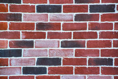 Background of old vintage brick wall Royalty Free Stock Images