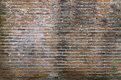 Background of old vintage brick wall, Old brick wall background Royalty Free Stock Photos