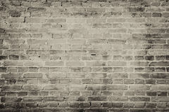 Background of old vintage brick wall royalty free stock photography