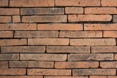 Background of old vintage brick wall. In temple stock images
