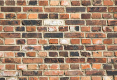 Background of old vintage brick wall. Background of brick wall texture. Background of old vintage brick wall Royalty Free Stock Photography