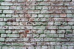 Background of old vintage dirty brick wall Royalty Free Stock Photography