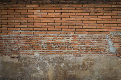 Background old wall brick Royalty Free Stock Photography