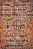 Background old wall broken bricks. The background of the old wall of broken bricks. vintage grunge texture Stock Photo