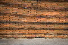 Background old wall brown taxture. Background old wall brown brick Royalty Free Stock Images
