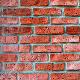 The background of the old wall of red brick Royalty Free Stock Images