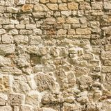 Background of Weathered Stone Wall. Background of Old and Weathered Stone Wall stock image