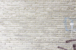 Background old white brick wall Royalty Free Stock Photos