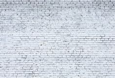White brick wall. royalty free stock images