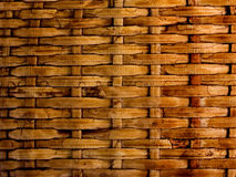 Background old wicker straw Stock Images