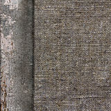 Background of old wood burlap limited Royalty Free Stock Image