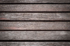 Background old wood red  battens Stock Photography