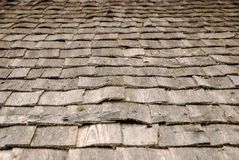 Background of old wood roof Royalty Free Stock Images