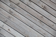 Background from old wooden boards diagonal Royalty Free Stock Image