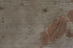 Background of old wooden boards with traces of paint Royalty Free Stock Images
