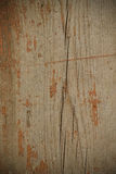 Background of old wooden boards with traces of paint. Toned Stock Photos