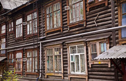 Background of old wooden house royalty free stock photos