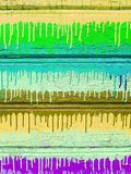 Background of old wooden planks with cracked paint royalty free stock photography
