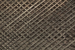 Background of the old wooden slats Stock Photos