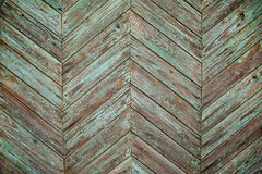 Background of old wooden tablets with traces of paint Royalty Free Stock Image