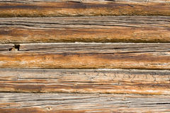 Background of old wooden wall. Pattern of old weathered timbered wall Royalty Free Stock Images