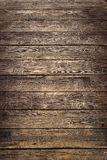 Background of old worn wooden planks Royalty Free Stock Photo
