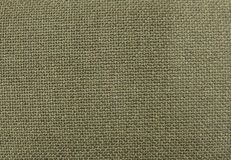Background of Olive Green Textile Pattern Texture Royalty Free Stock Photography