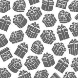 Background сolorful gift boxes. Vector Royalty Free Stock Images