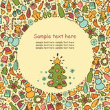 Background On A Theme Of New Year And Christmas Royalty Free Stock Image