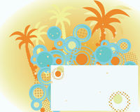 Background On The Summer Theme Stock Photo